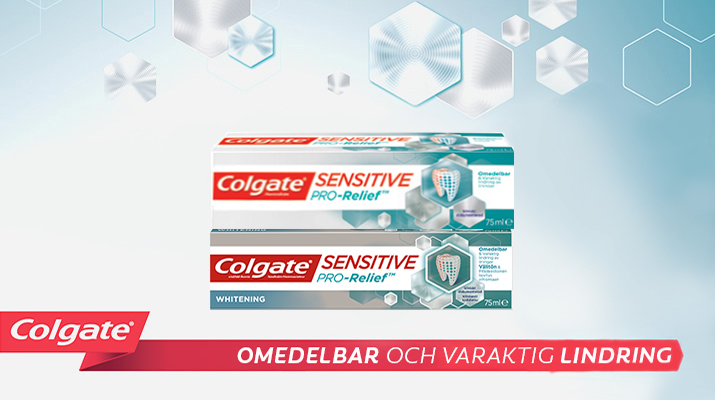 Produktsortimentet Colgate® Pro Sensitive