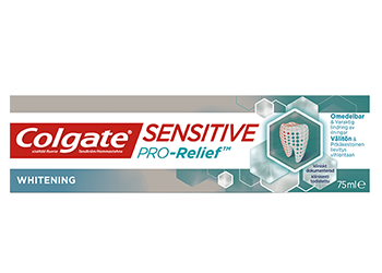 Colgate® Sensitive Pro-Relief™ + whitening tandkräm